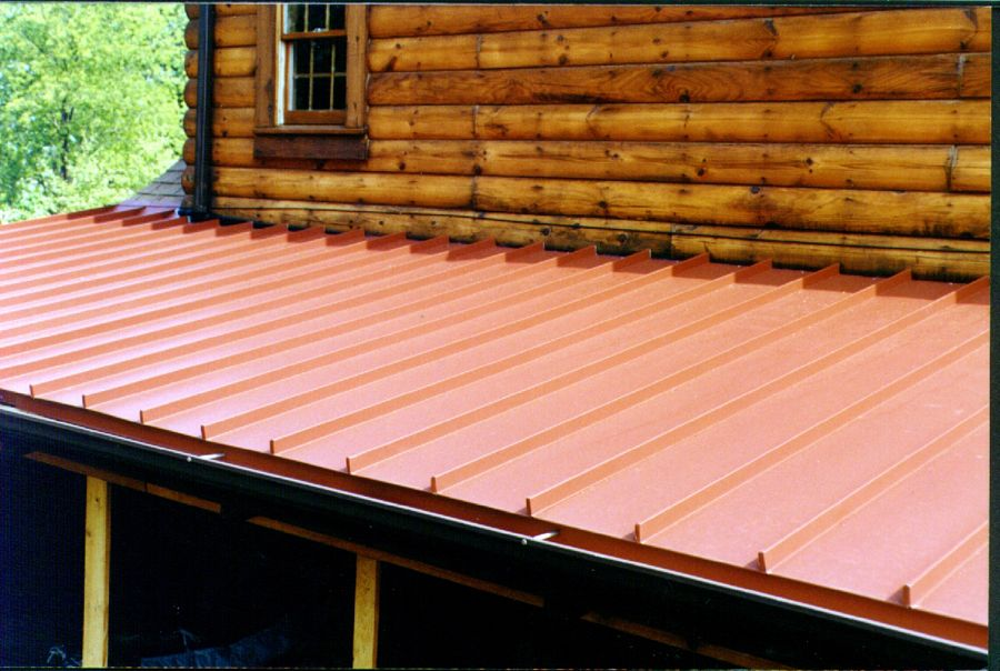 Traditional Metal Roofing Vertical Or Standing Seam