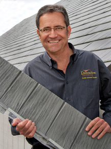 Bruce Hicks of Distinctive metal Roofing Pittsburgh PA