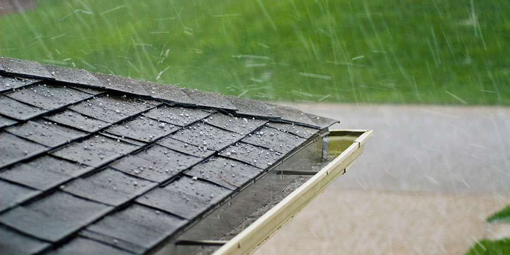 hail resistant roofing Kassel and Irons
