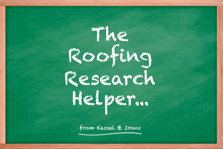 The Roofing Research Helper